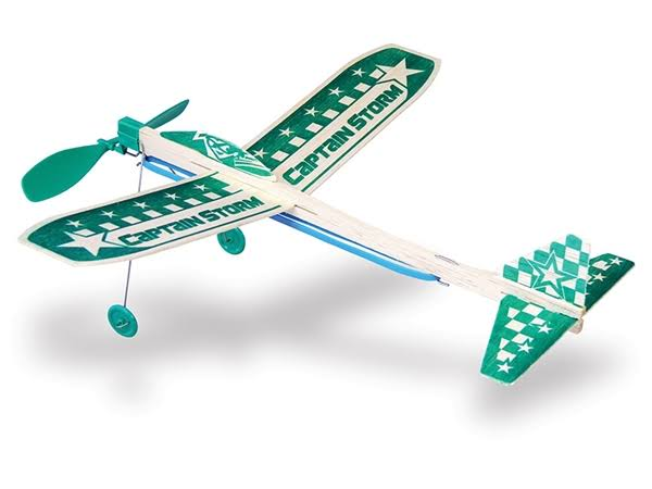 Guillow S Balsa Glider Captain Storm 44