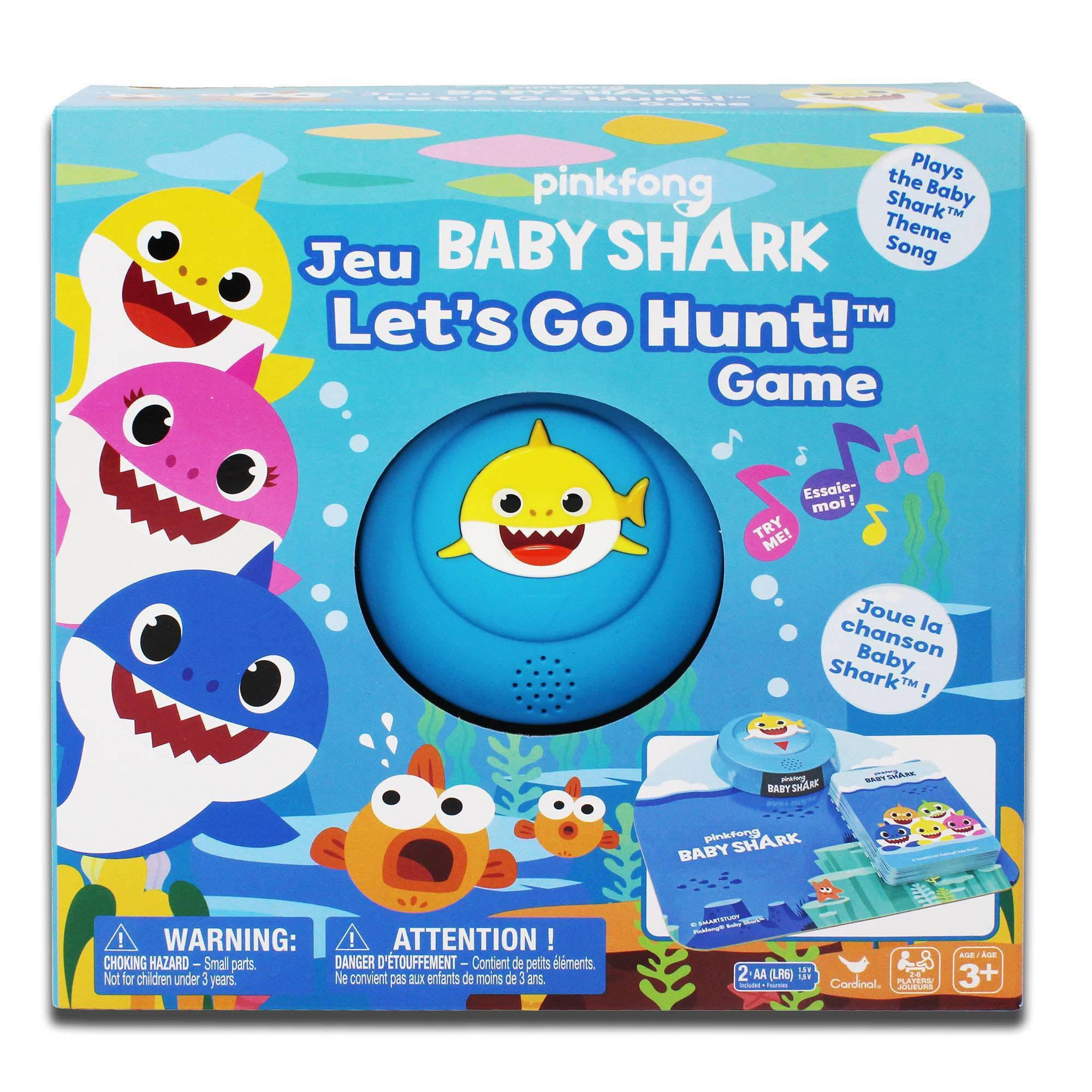 Pinkfong Baby Shark Let's Go Hunt Board Game