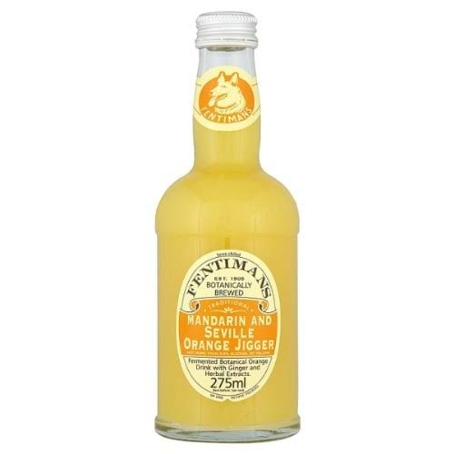Fentimans Botanically Brewed Natural Jigger Drink - Mandarin and Seville Orange, 275ml