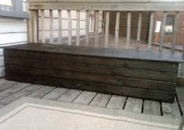 Build Outdoor Storage Bench by Ideas Wood Working