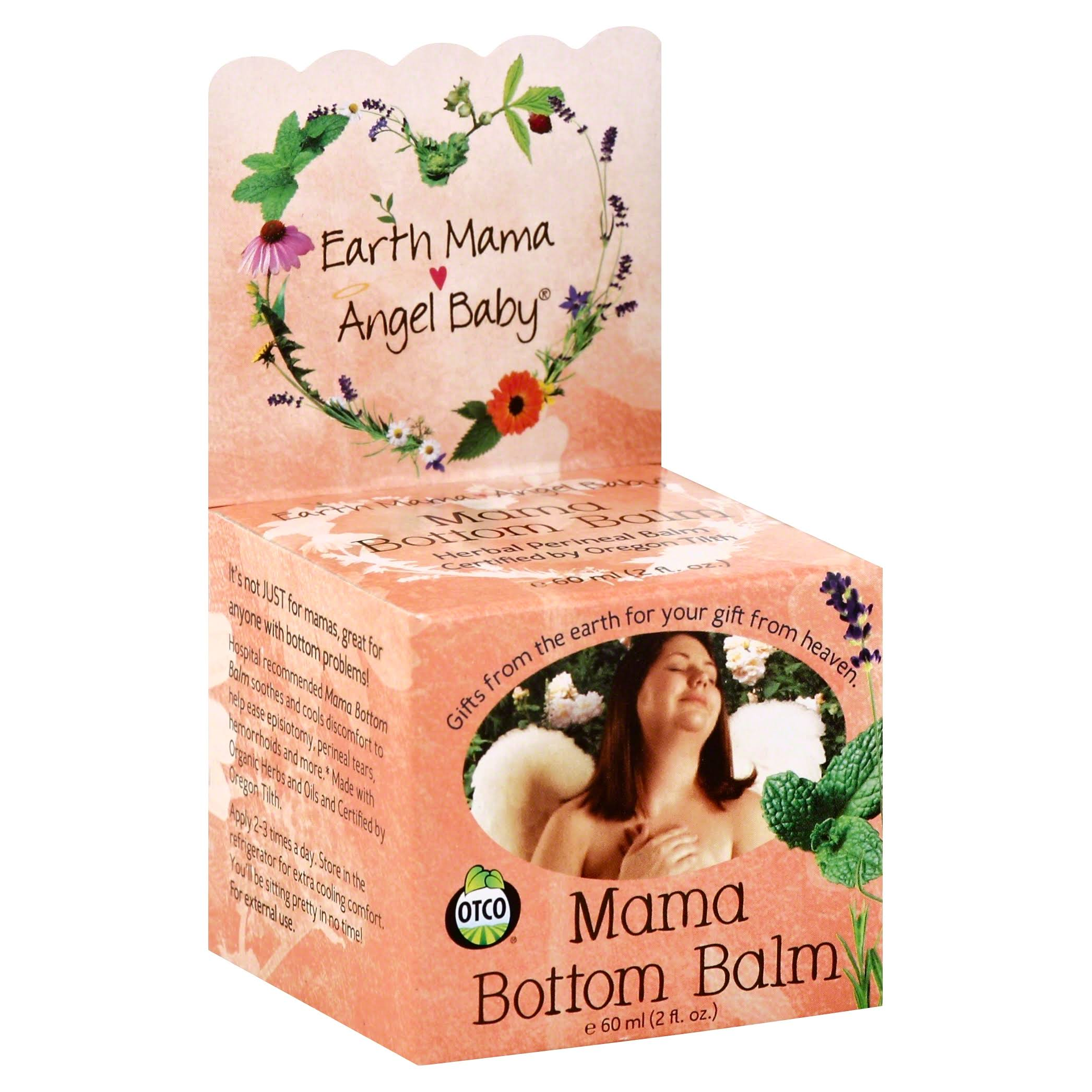 Earth Mama Angel Baby Mama Bottom Balm - 60ml
