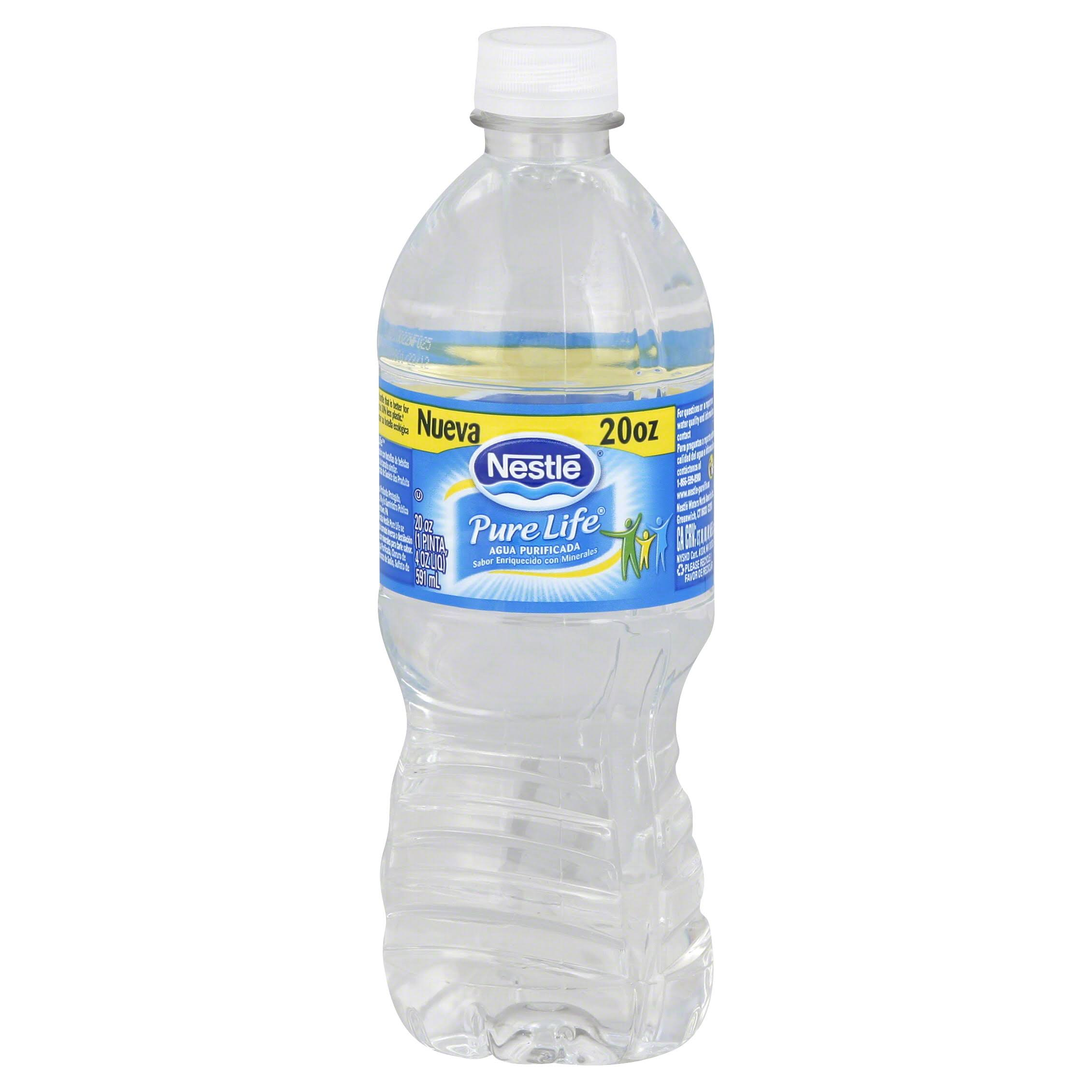 Nestle Pure Life Bottled Water - 20oz