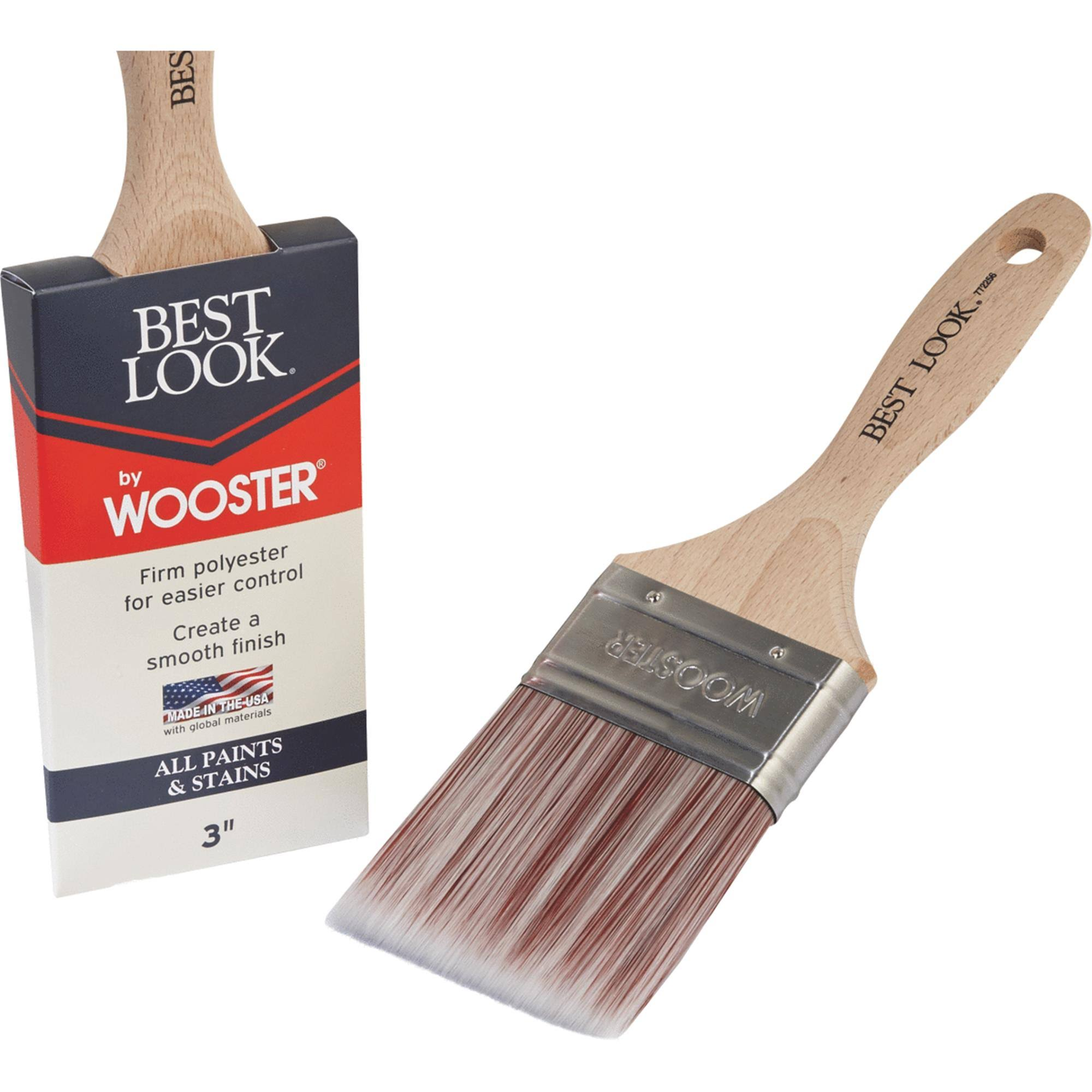 Best Look by Wooster Polyester Paint Brush - D4024-3