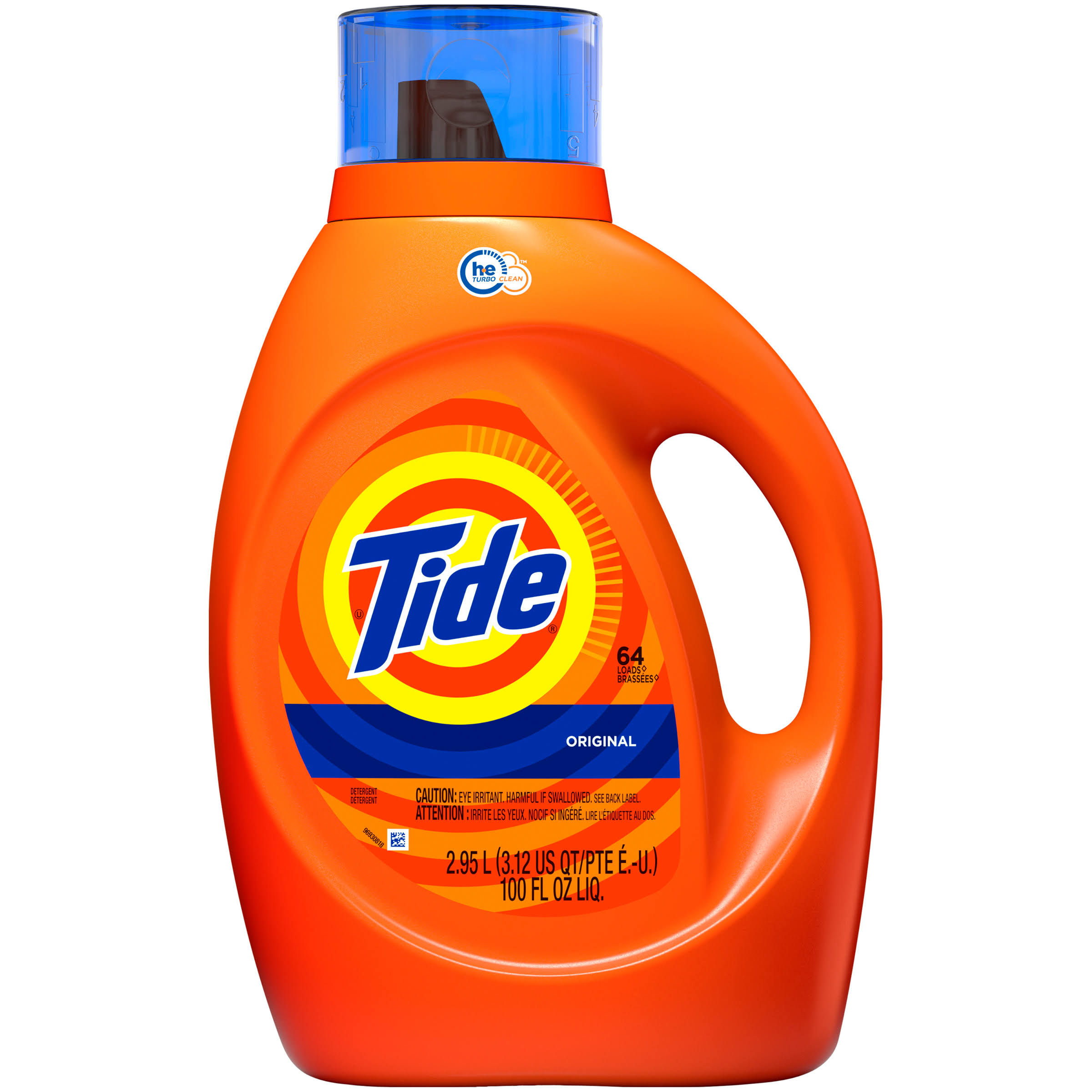 Tide Original Liquid Detergent - 64 loads, 100oz