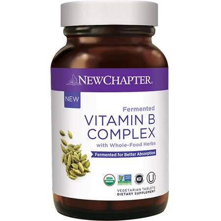 New Chapter Fermented Vitamin B Complex - 30 Tablets