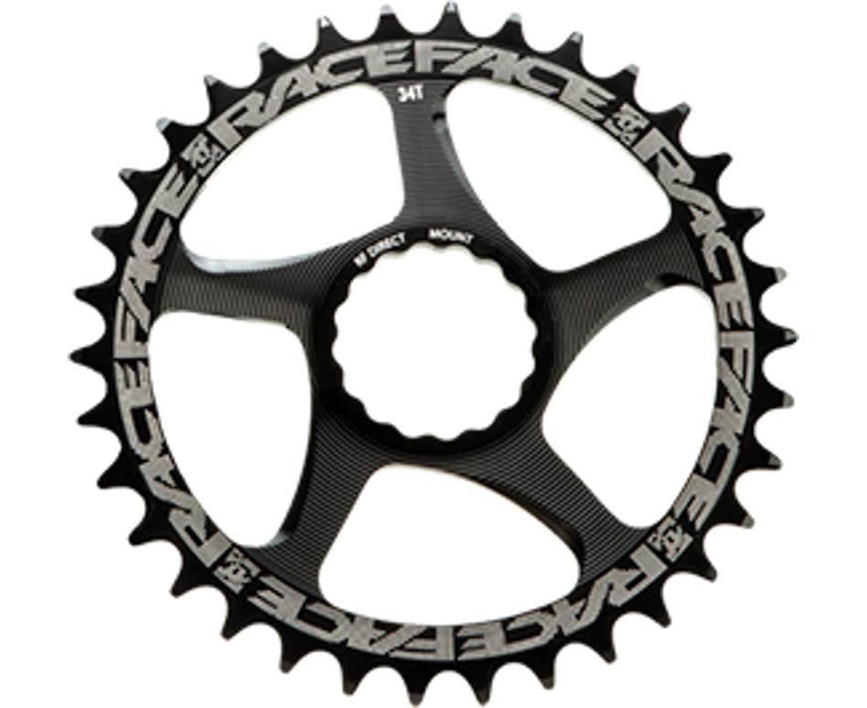 Race Face Narrow Wide Cinch Direct Mount Chainring - Black, 32T