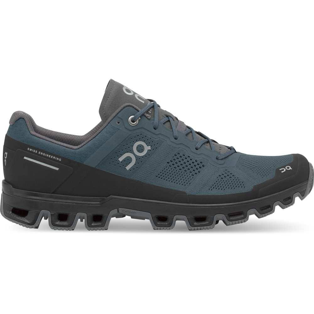 on Men's Cloudventure Trail Running Shoe - Shadow | Rock, 9