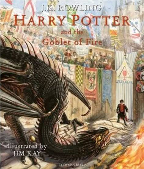 Harry Potter and the Goblet of Fire: Illustrated Edition - J.K. Rowling