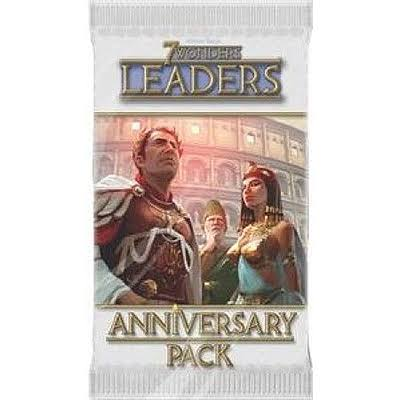 Asmodee Editions 7 Wonders Leaders Anniversary Card Pack
