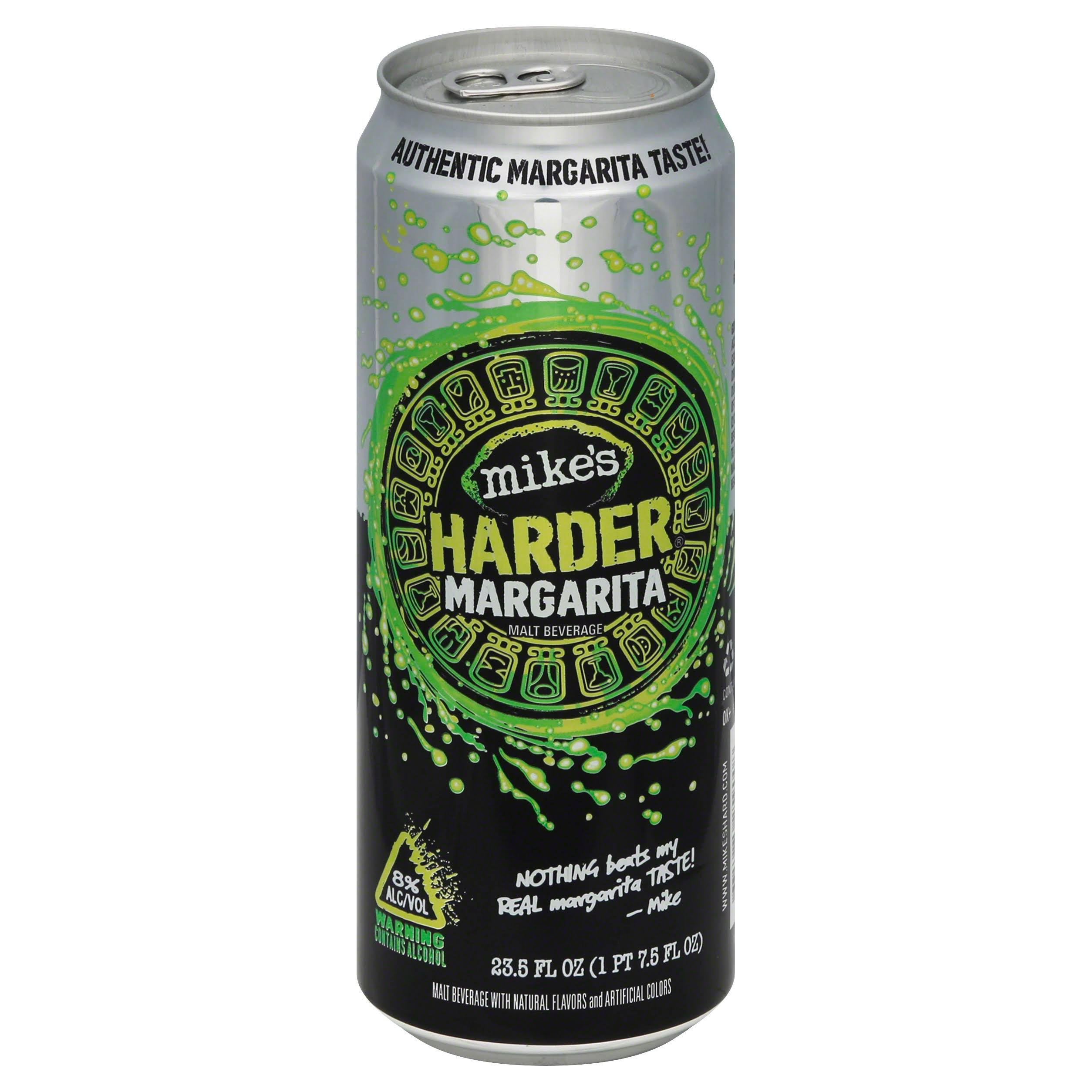 Mikes Malt Beverage, Harder Margarita - 23.5 fl oz