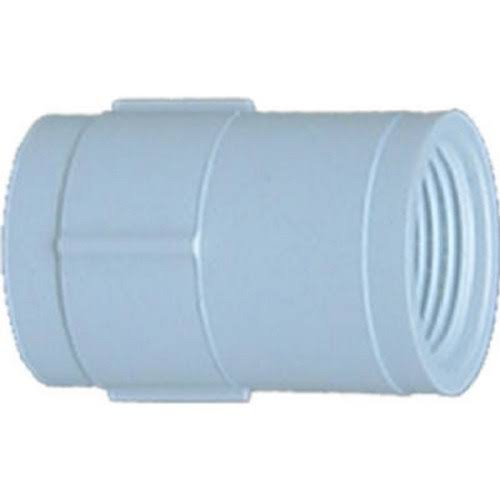 Genova Schedule 40 Threaded PVC Coupling