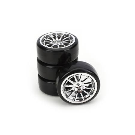 Integy C23243 Type4 Complete Whl/Tire Set(4): Drift