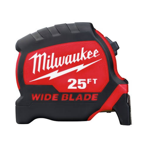 Milwaukee Wide Blade Tape Measure - 25'