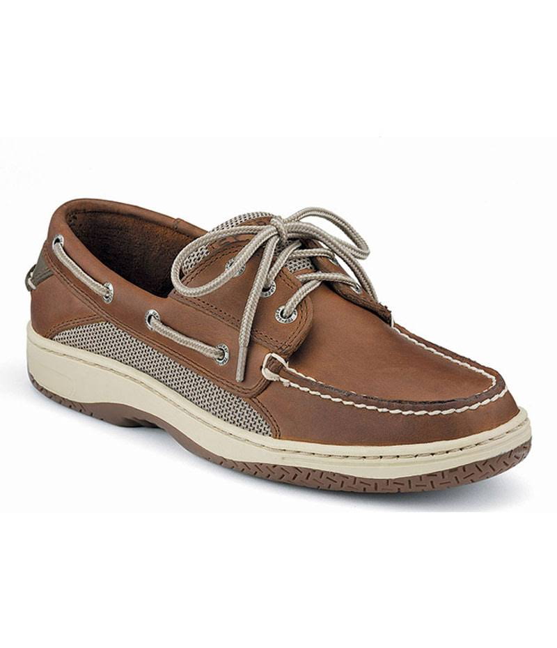 Sperry Top Sider Men's Billfish 3 Eye Boat Shoes - Brown, 11.5 US