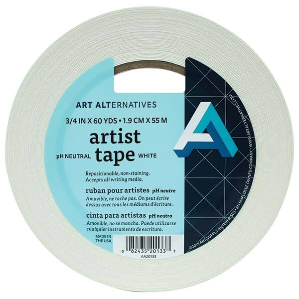 Art Alternatives Artist Tape - White