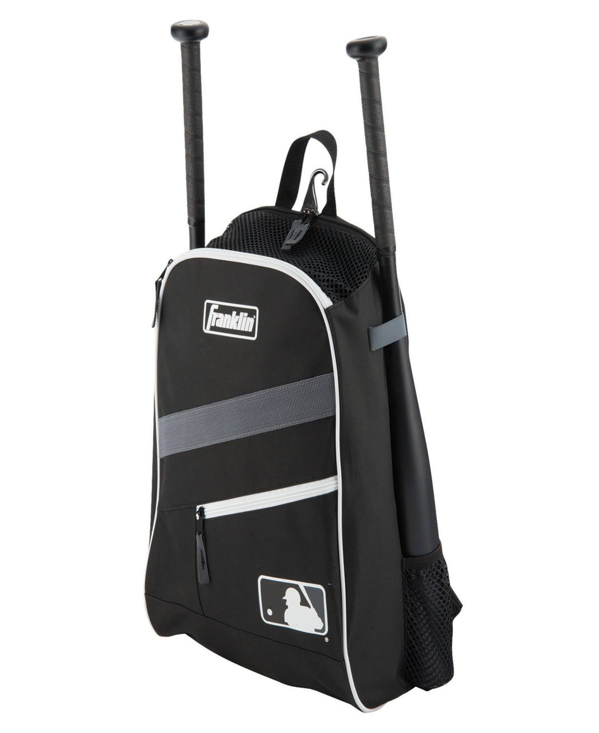Franklin Sports Batpack Equipment & Bat Backpack, Black