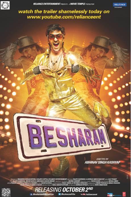 Besharam 2013 Hindi Movie Download Watch Online HD DVDRip