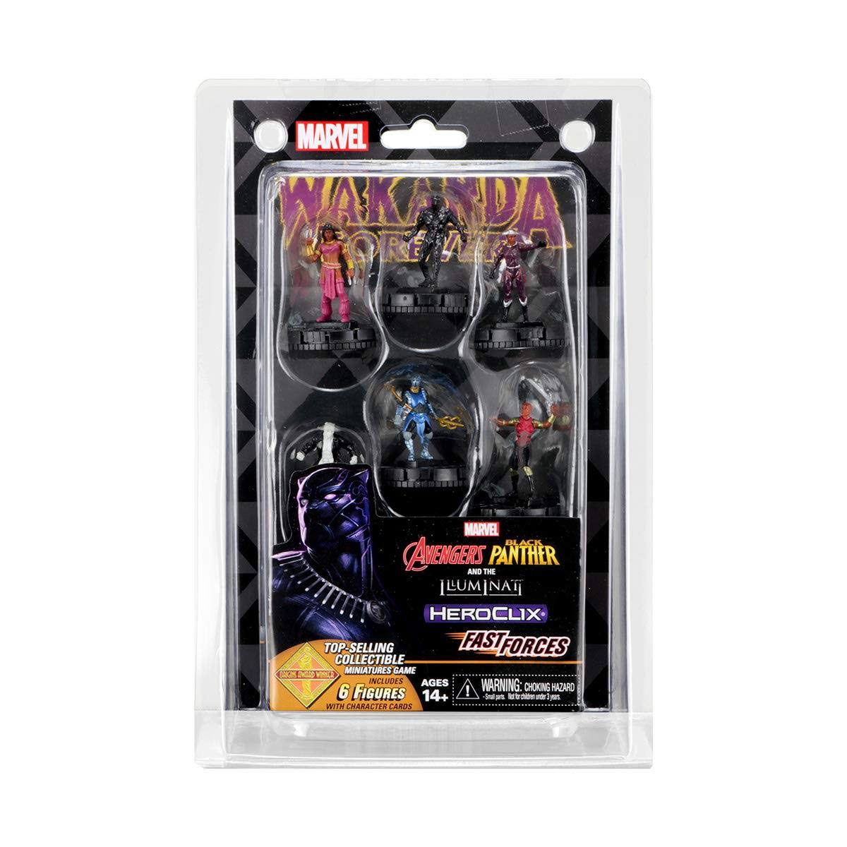 Marvel Heroclix Avengers Black Panther and The Illuminati Fast Forces