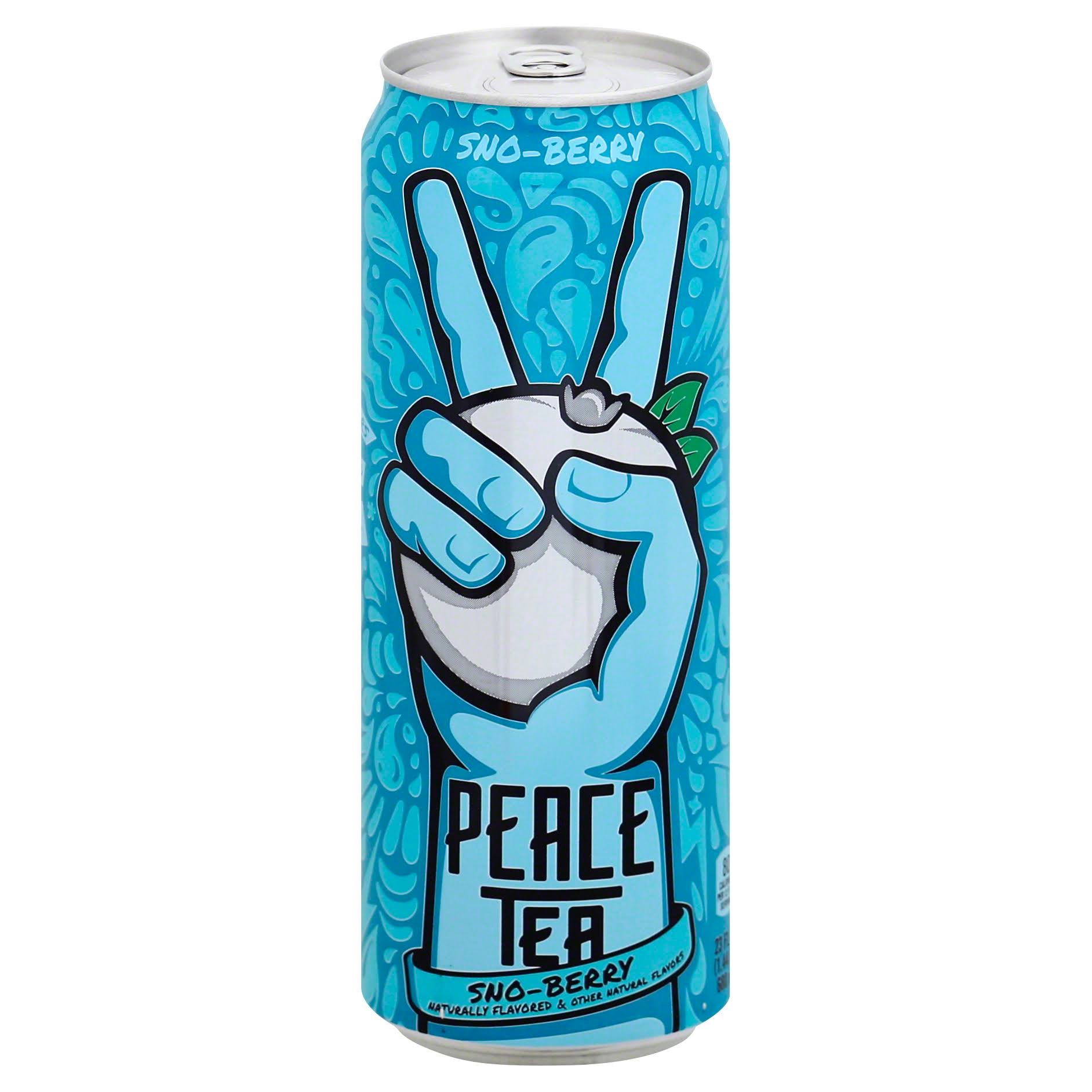 Peace Tea Tea, Sno-Berry - 23 fl oz