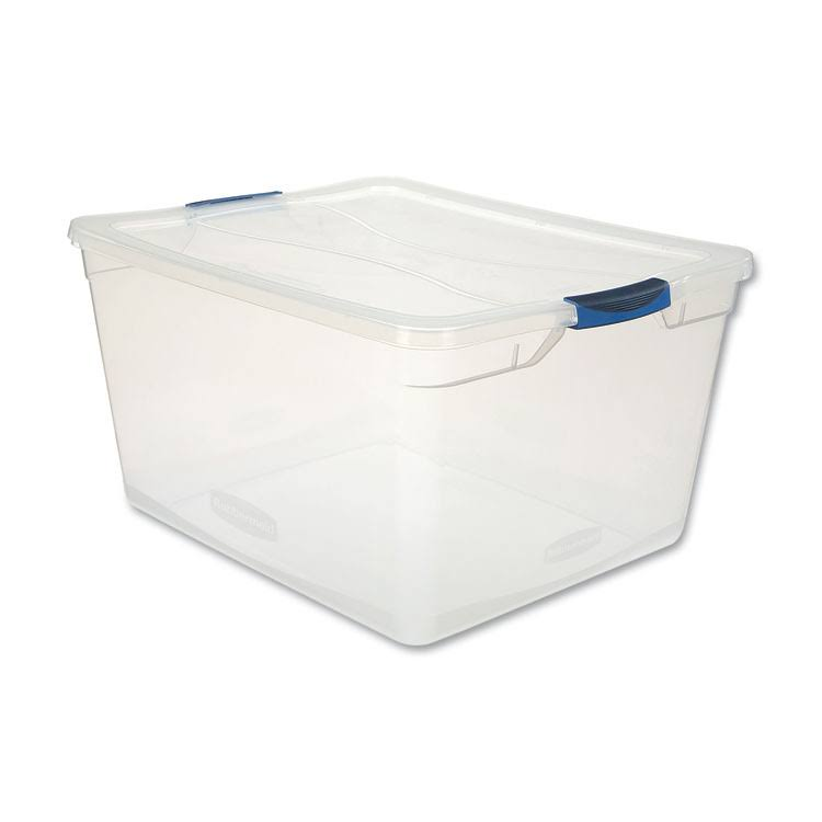 Rubbermaid Latching Lid Storage Tote - 71qt