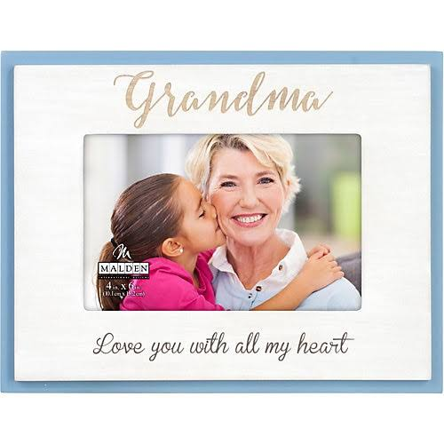 "Malden Grandma Laser Sentiment Wood Frame - 6"" x 4"""