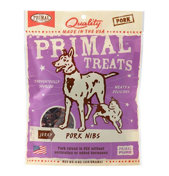 Primal Pet Foods Treats - Pork Nibs