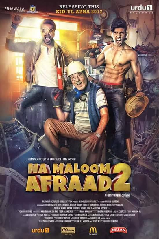 Na Maloom Afraad 2 2017 Pakistani Movie Download HDRip 480p 350MB And 720p 800MB High Speed Google Drive Link