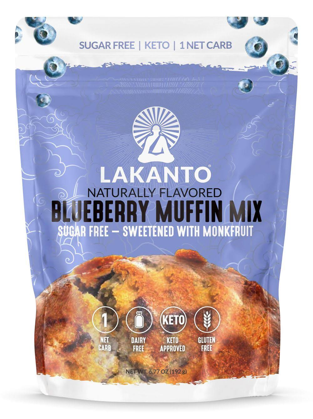 Lakanto Sugar Free Muffin Mix, Blueberry, 6.77 oz