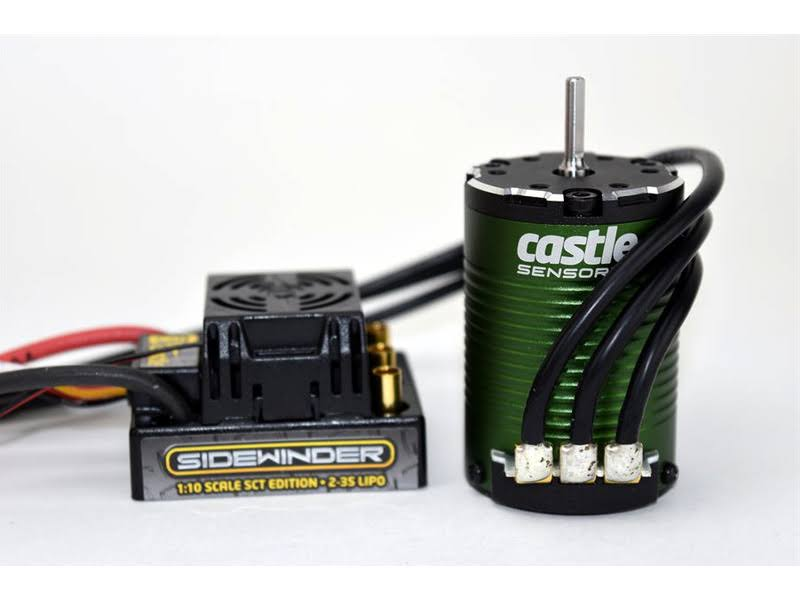 Castle Creations 1/10 SCT Sidewinder WP ESC + 1410 3800kv Sensored