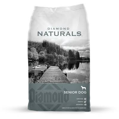 Diamond Naturals Dry Food for Senior Dogs 8+