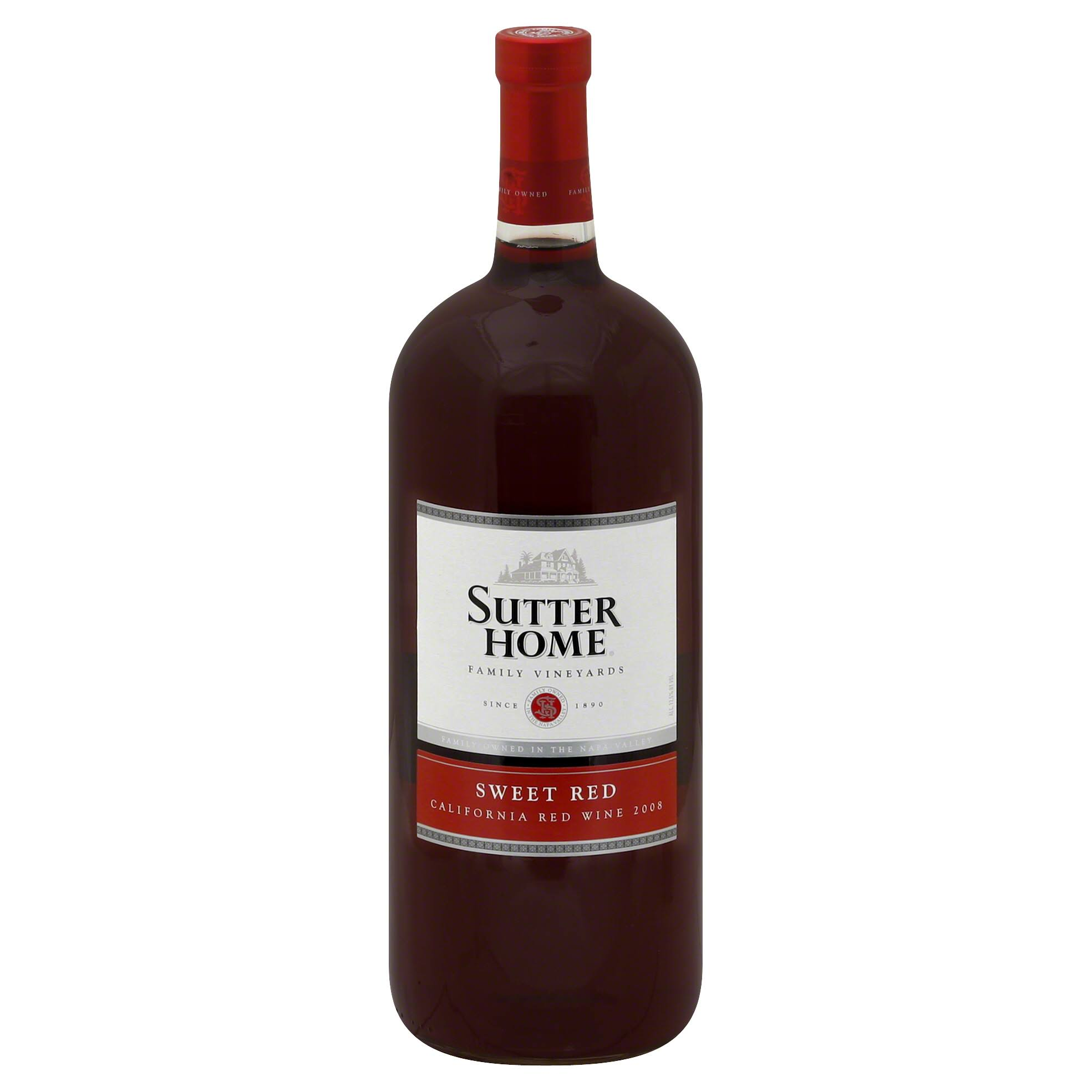 Sutter Home Sweet Red Wine - California