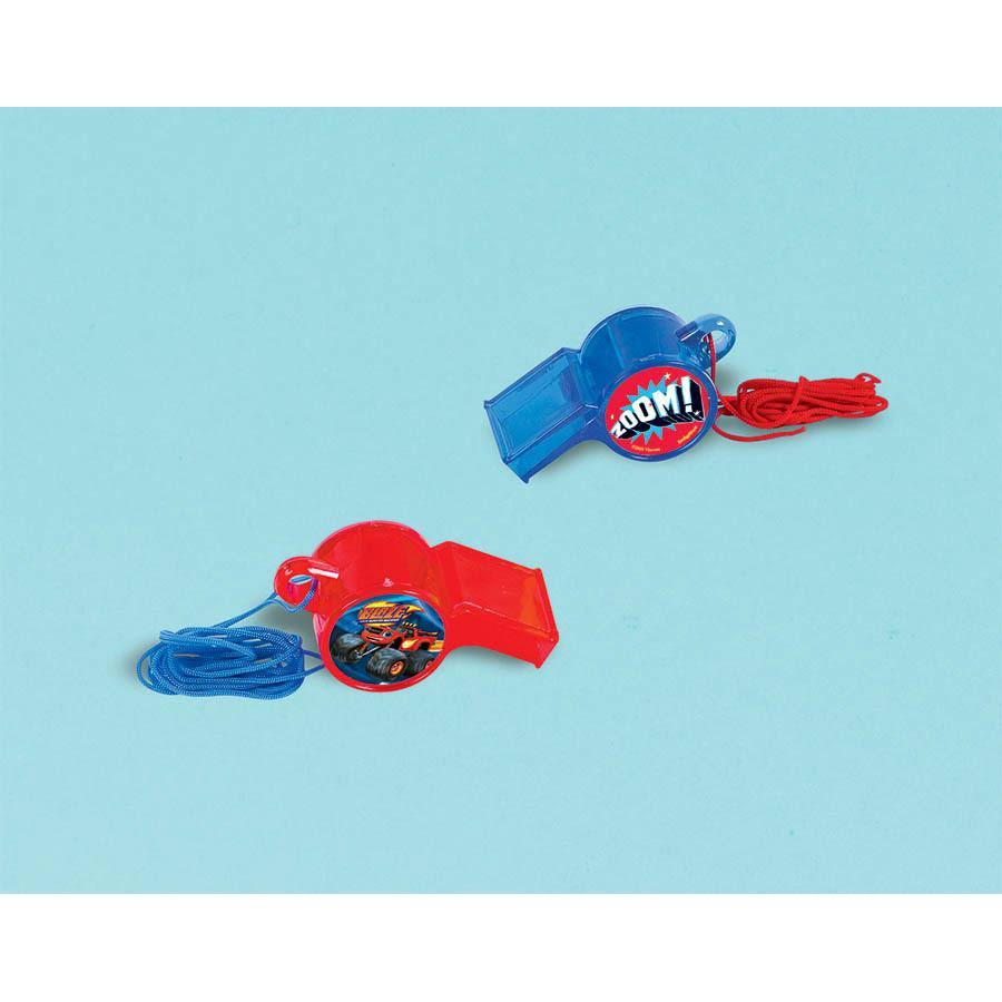 Amscan Blaze and The Monster Machines Whistle (1ct)