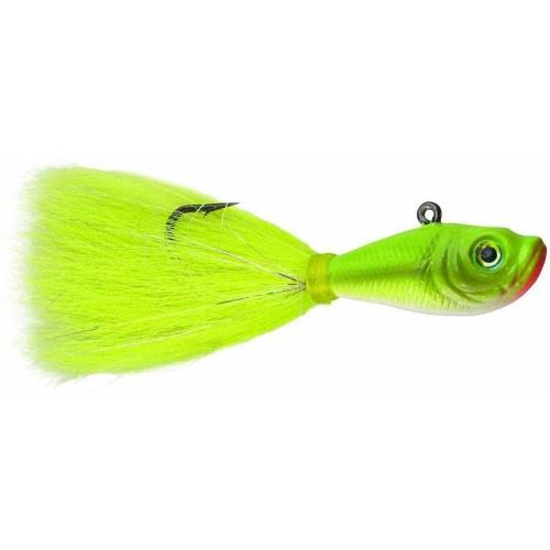 SPRO Bucktail Jig - Crazy Chartreuse, 2oz