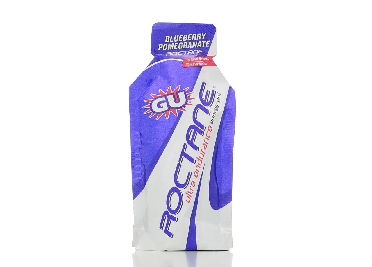 Gu Roctane Ultra Endurance Energy Gel - Blueberry Pomegranate, 32g