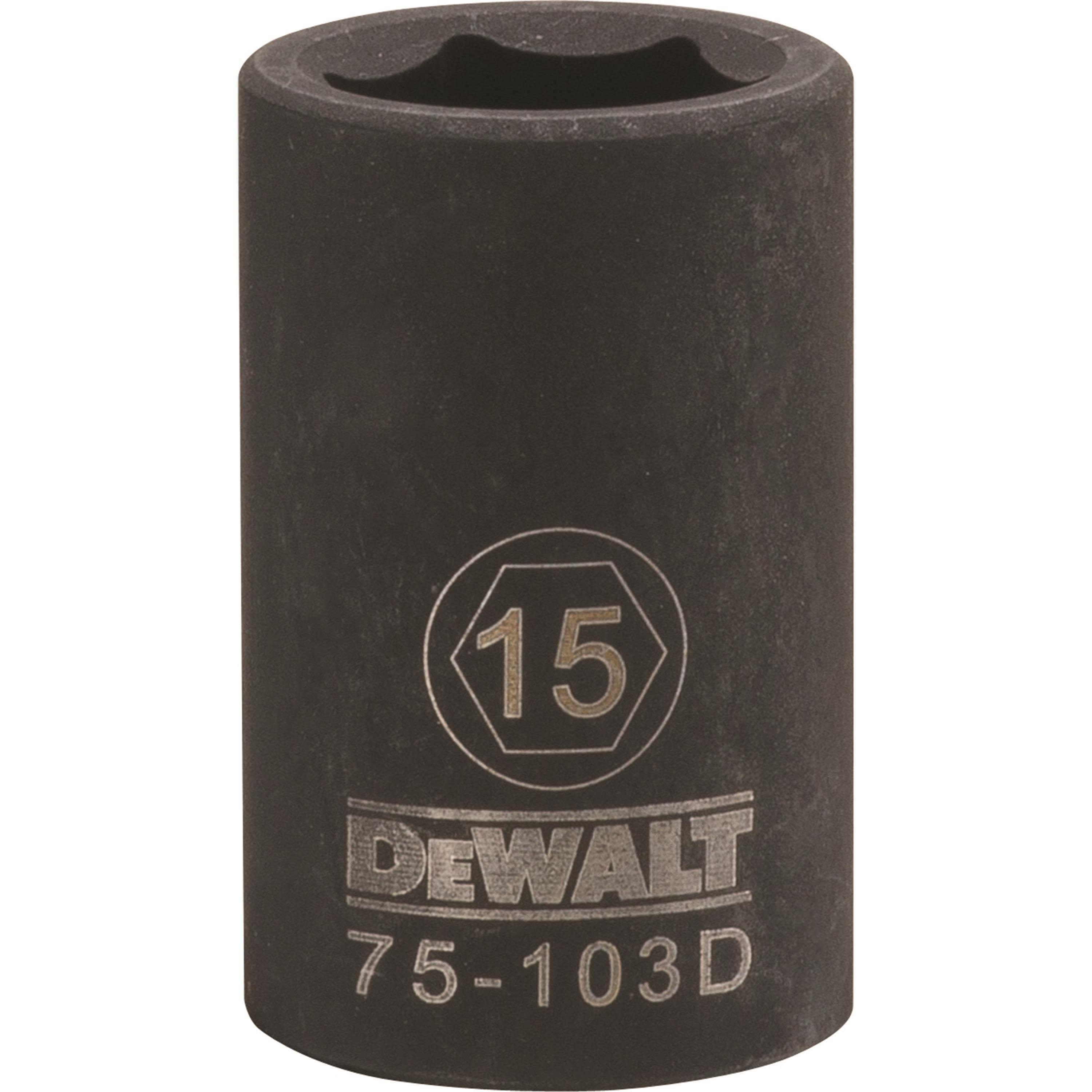 "Stanley Tools Impact Socket - 0.5"" Drive, 15mm"