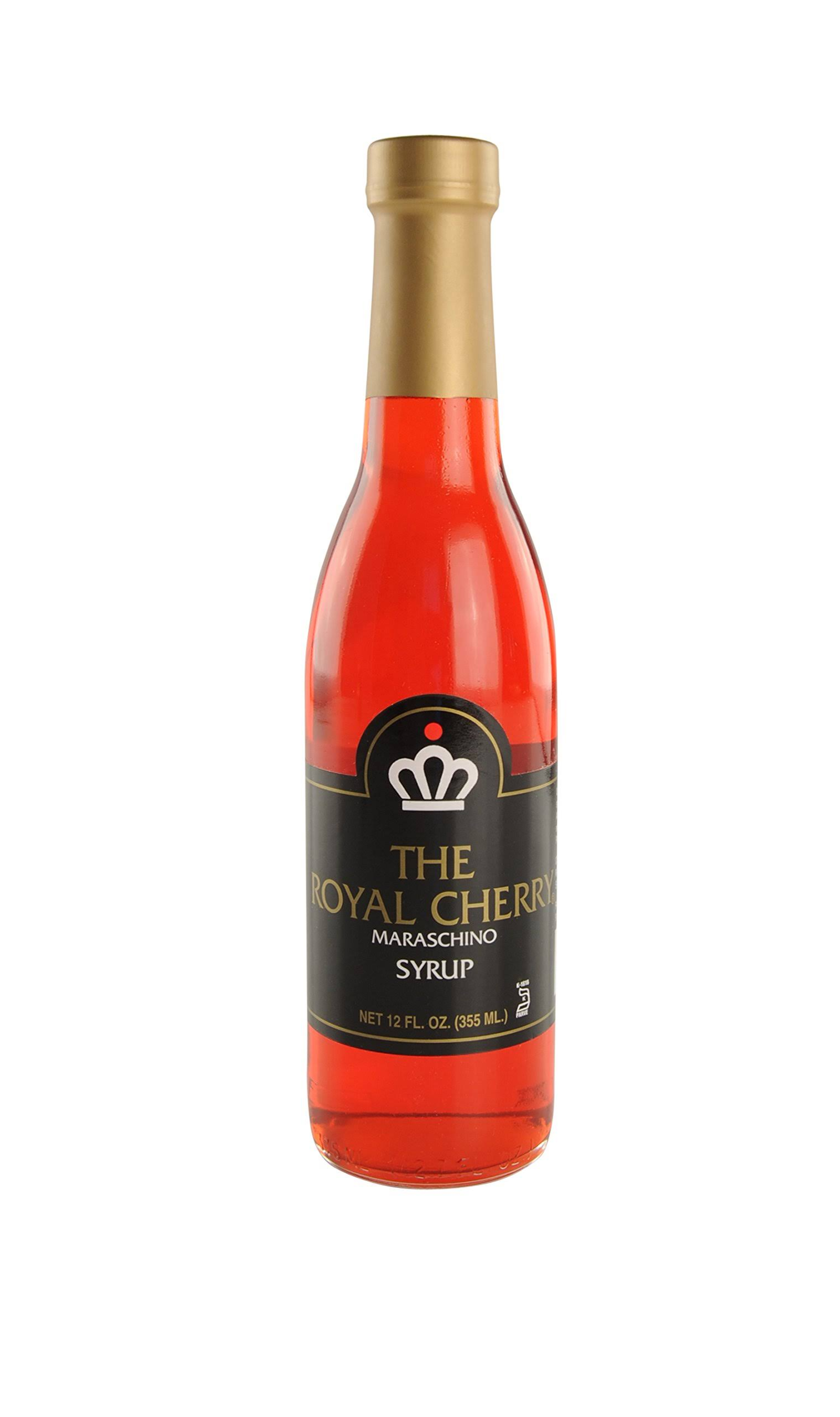 The Royal Cherry Maraschino Syrup 12 Ounce