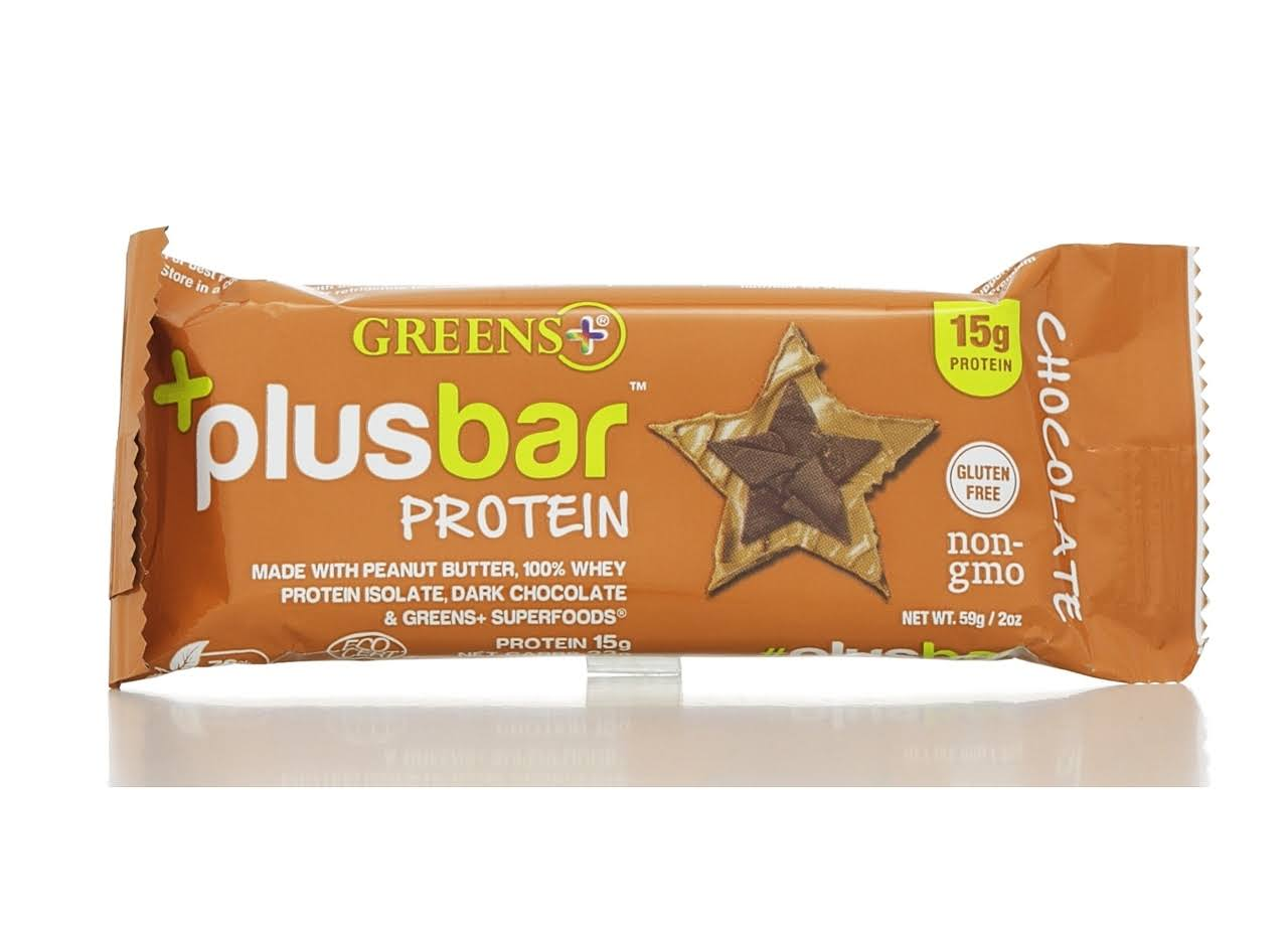 Greens Plus Protein Bar - Peanut Butter And Chocolate