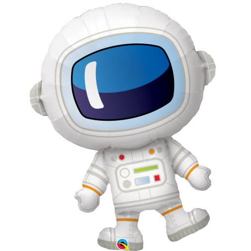 Qualatex Astronaut Large Super Shape Foil Balloon - 94cm