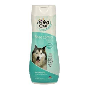 8 in 1 Perfect Coat Shed Control Dog Shampoo - 16oz