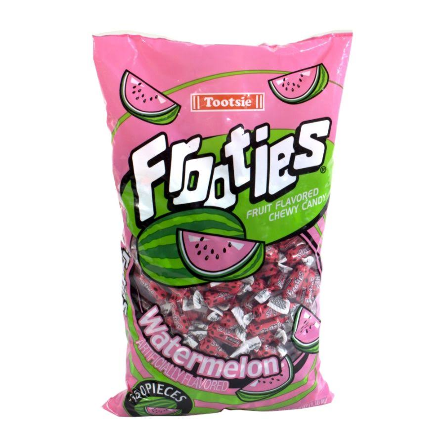 Tootsie Roll Frooties Chewy Candy - Watermelon, 360pcs