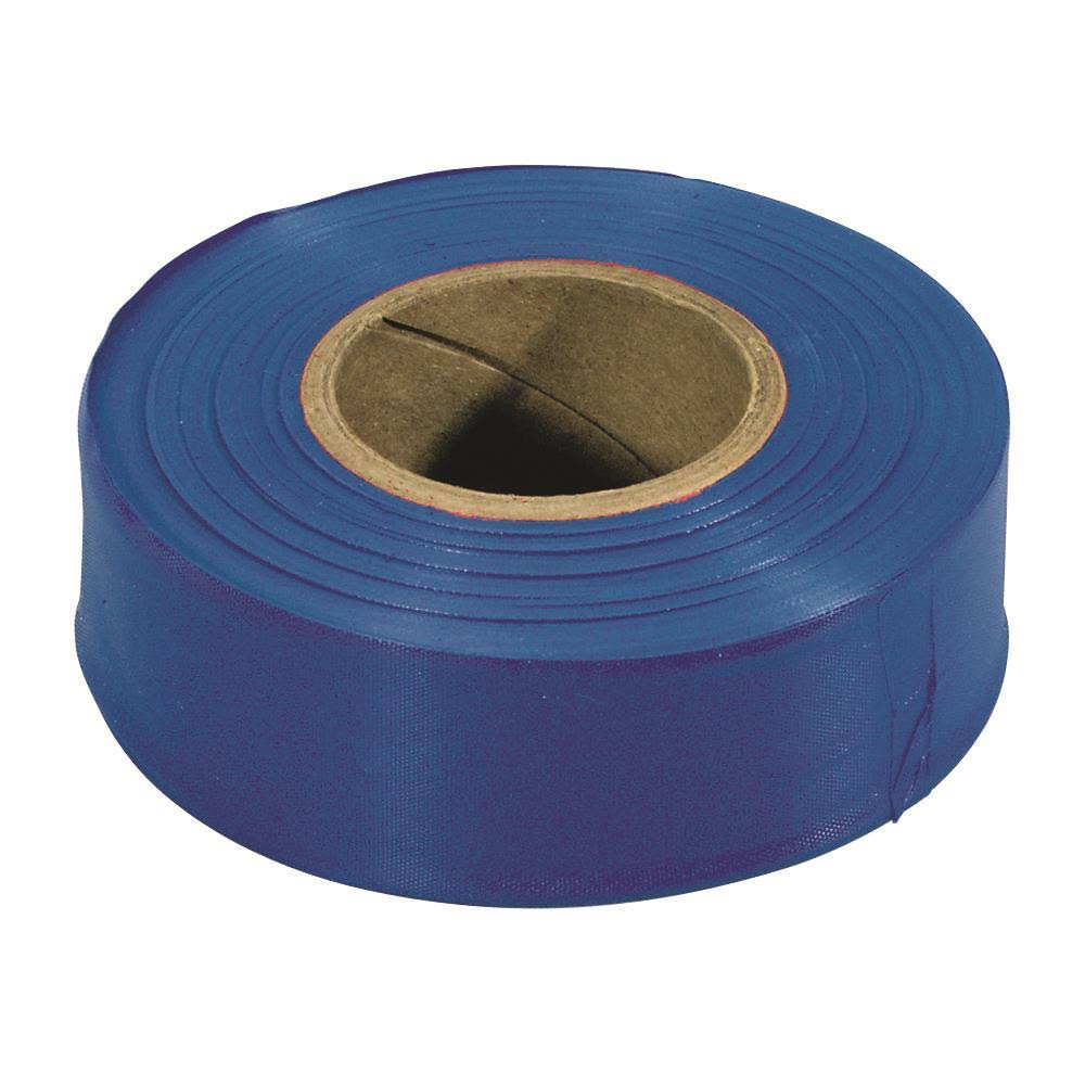 Irwin Construction Flagging Tape - Glow Blue, 300'
