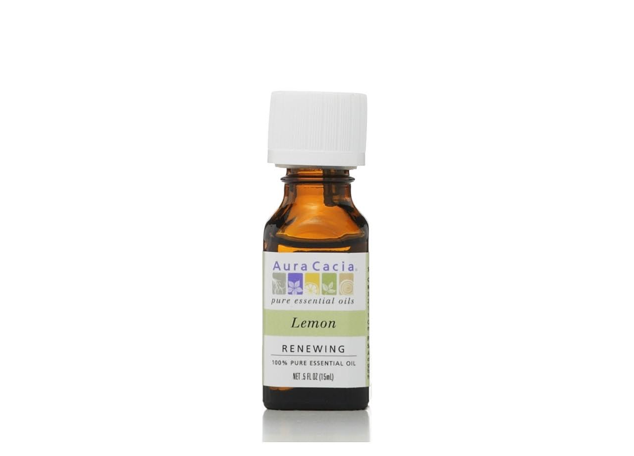 Aura Cacia Essential Oil - Lemon, 15ml