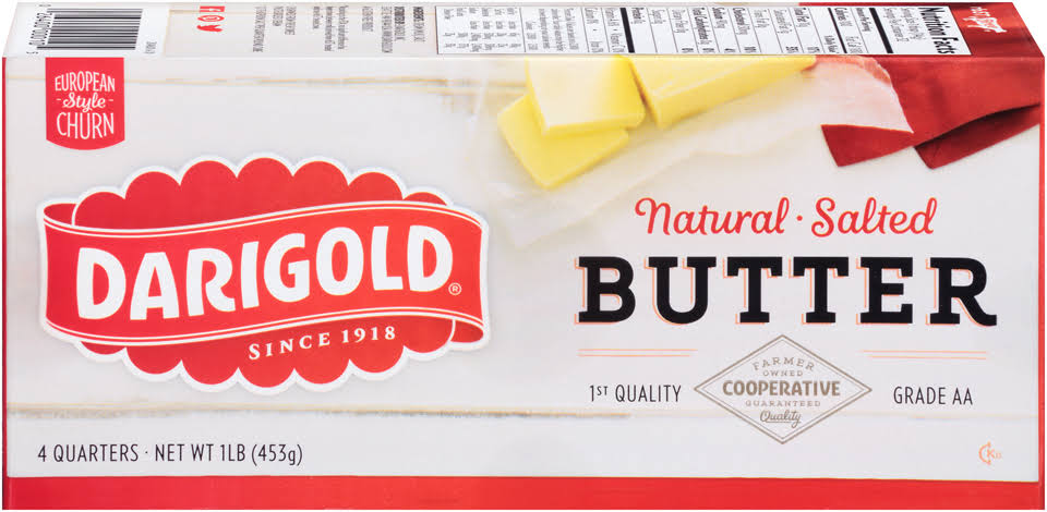 Darigold Natural Salted Butter - 453g