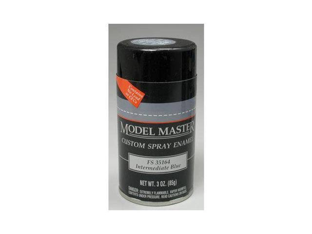 Testors Model Master Custom Spray Enamel - Intermediate Blue, 3oz