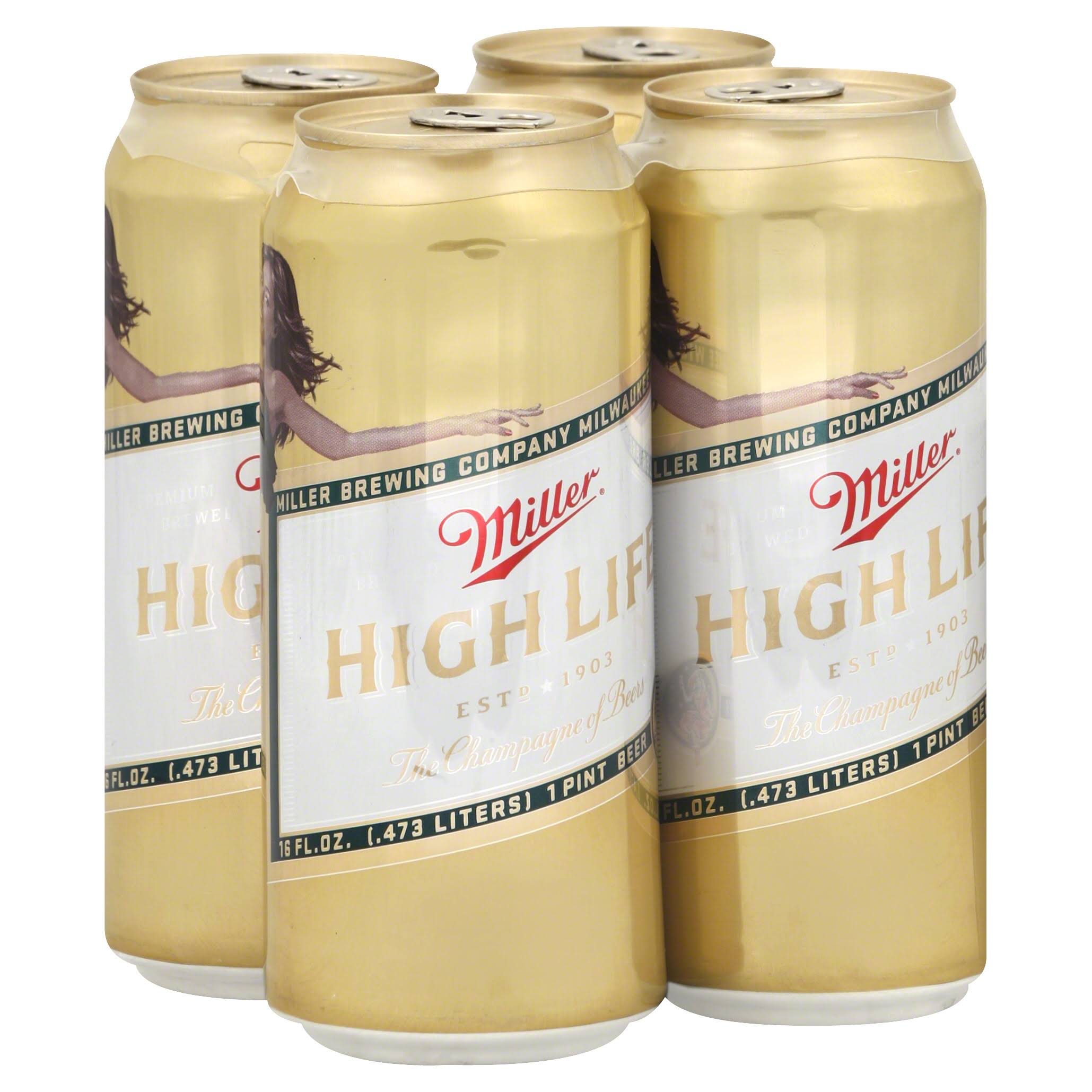 Miller High Life The Pursuit Beer - 16oz