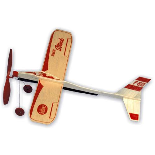 Guillow's Strato Streak Rubber Band Powered Balsa Glider