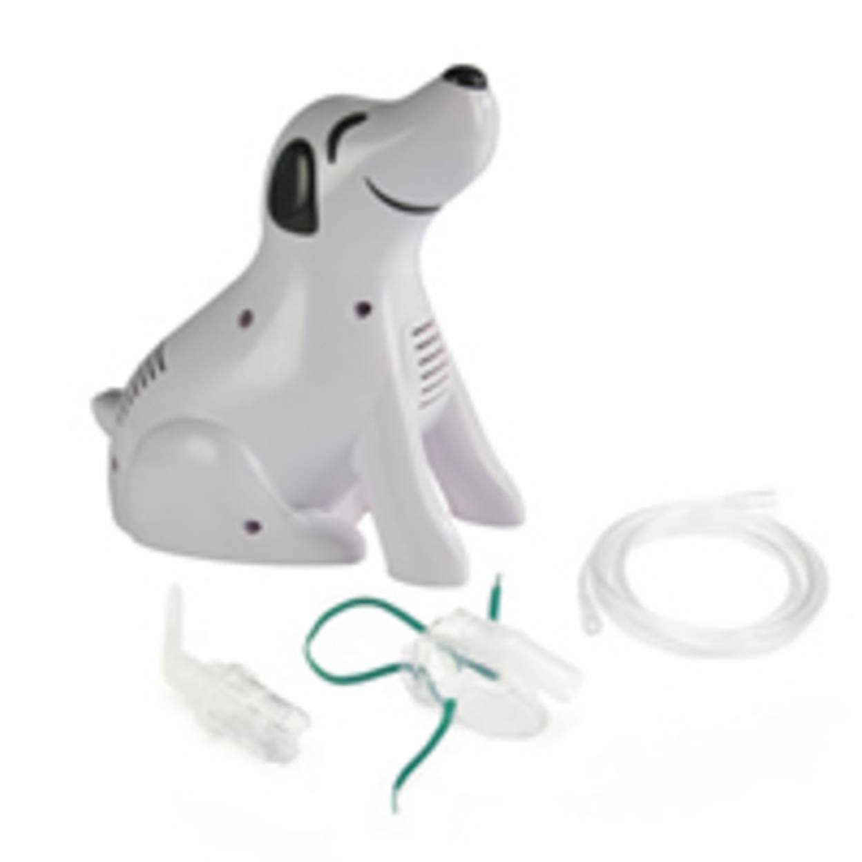 Roscoe Medical Pediatric Dog Nebulizer Compressor with Truneb Reusable Neb Kit