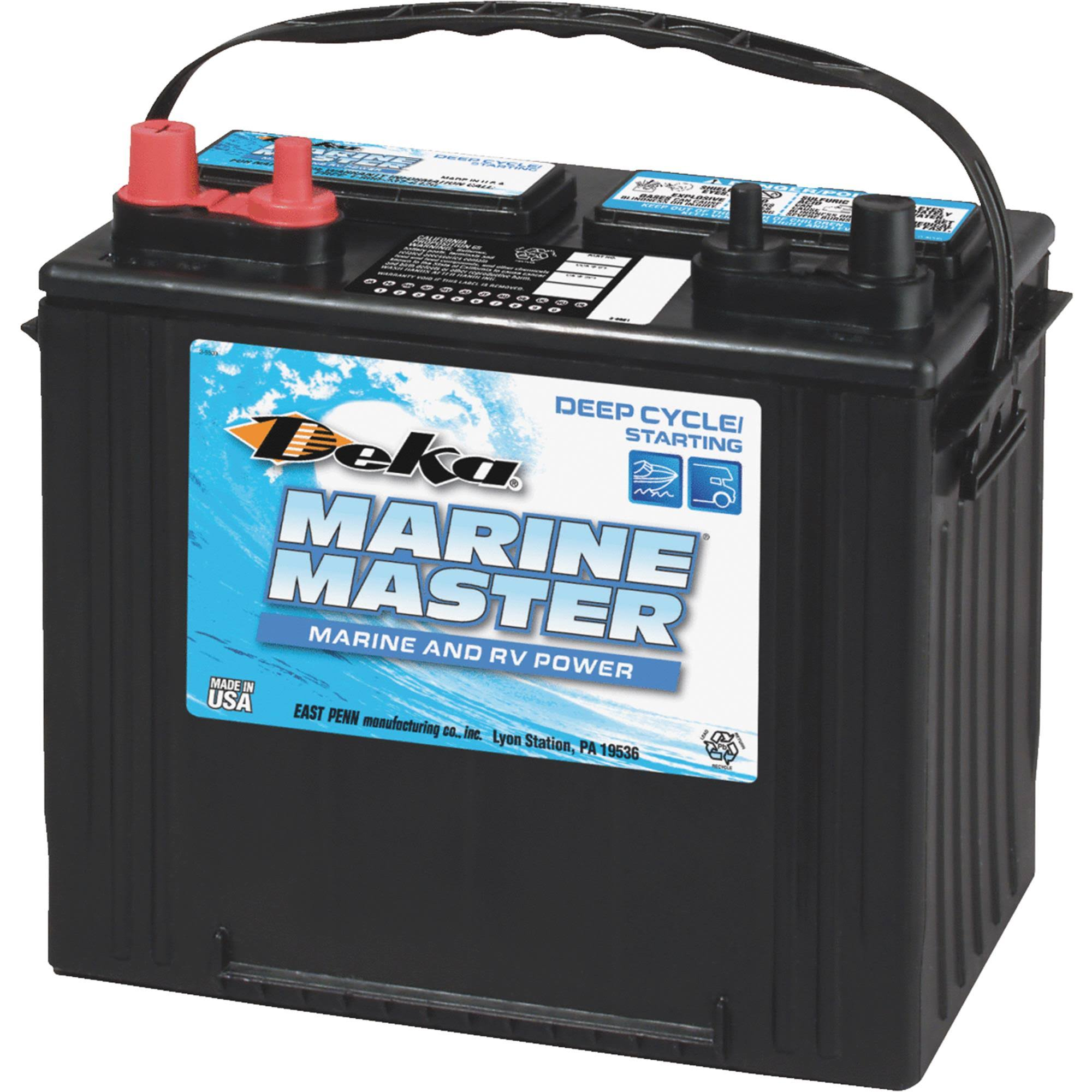 Deka Marine Master Dual Purpose Marine/RV Battery
