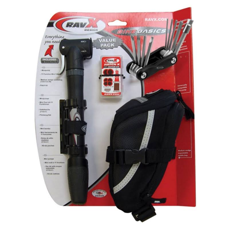 Ravx Design Bicycle Repair Puncture Bike Kit