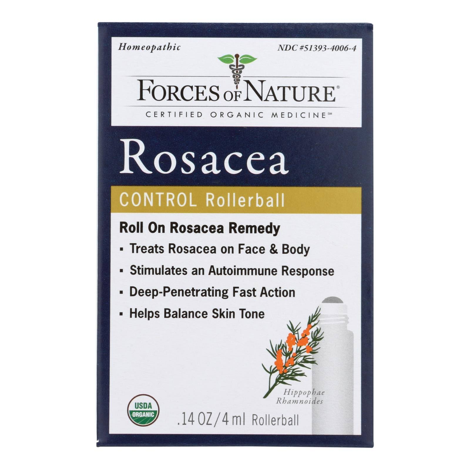 Forces of Nature - Rosacea Control - 4 ml